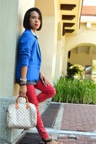 Forever 21 bracelet - Fudge Rock jeans - What A Girl Wants blazer
