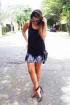 Riachuelo skirt - Zara shoes - H&M purse - Hering blouse