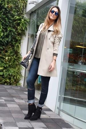 Riachuelo coat - Riachuelo boots - Riachuelo jeans - Riachuelo shirt