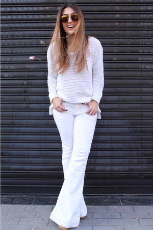 Zara shoes - canal jeans - Gap top