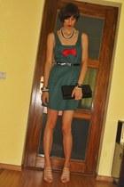 custom made dress - Leonardo sandals - Accesorize necklace - Accesorize bracelet