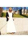 Gold-blanco-shoes-light-pink-h-m-dress-black-mango-blazer