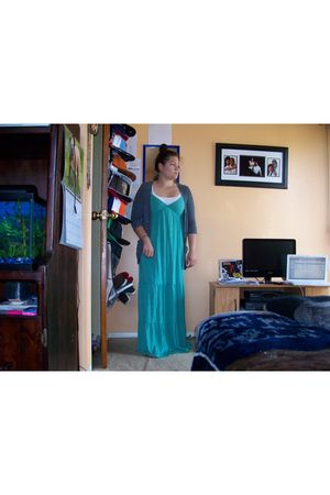 Target dress - The Closet cardigan