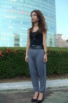 vest - belt - pants - shoes - bracelet