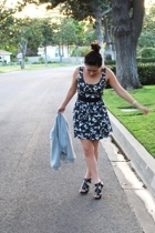 forever 21 dress - Steve Madden shoes - H&M jacket