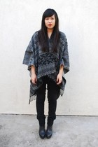Forever 21 sweater - Levis jeans - payless boots