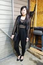 calvin klein bra - forever 21 top - forever 21 vest - Zara pants - H&M shoes - H
