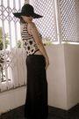 Black-vintage-top-black-diysewed-by-mum-skirt-silver-diy-shoulder-piece-acce