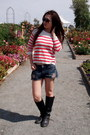 Dark-gray-rouched-nyla-boots-carrot-orange-knit-hollister-sweater