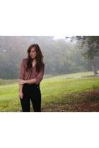 Charlotte RusseRonson blouse - Forever 21 pants