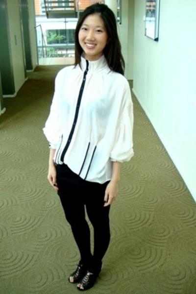 shoes - Zara blouse - aa skirt
