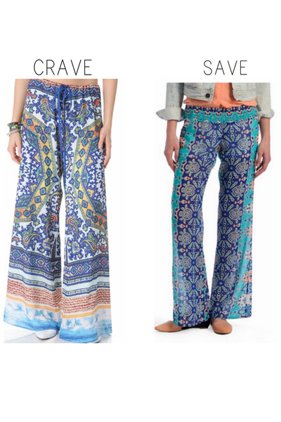 beachy Clover Canyon pants