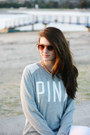 Heather-gray-eclectic-crew-victorias-secret-pink-sweater