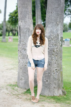 beige romwe sweater