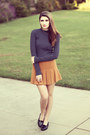 Burnt-orange-forever-21-skirt