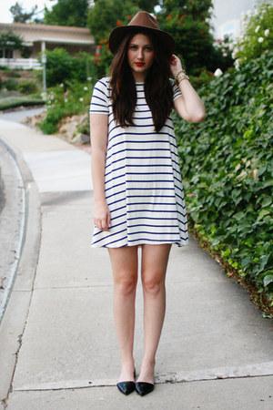 white asos dress