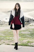 black Zara shoes - black Style Stalker jacket
