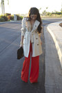 Trench-coat-burberry-coat-zara-pants-sequined-jcrew-top