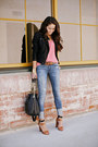 Genetic-denim-jeans-topshop-jacket-madison-marcus-blouse-zara-heels