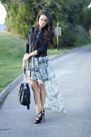 Prada heels - Zara dress - Topshop jacket