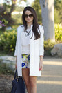 Zara-shorts-zara-coat-gucci-heels