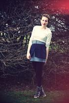 H&M dress - Forever 21 skirt - calvin klein shoes