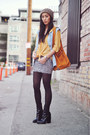Alexander Wang bag - leather black Theyskens Theory boots