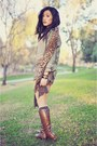 Dark-brown-lace-up-necessary-clothing-boots-tan-basic-old-navy-shirt-olive-g