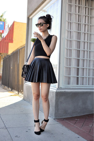 PROENZA SCHOULER purse - Ray Ban sunglasses - H&amp;M skirt