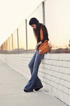 Kasil Workshop jeans - wedges suede Steve Madden shoes - Forever 21 hat