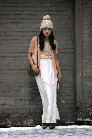 Chanel blouse - Zara shoes - coach purse - Theory skirt