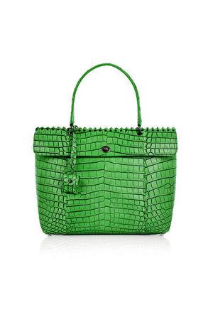green Bottega Veneta purse