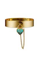 gold Karen Karch bracelet