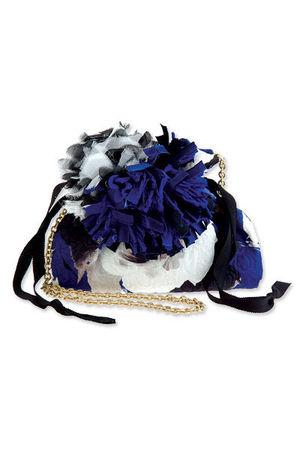 white lanvin purse