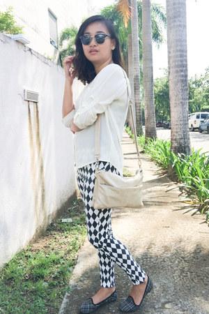 Solemate shoes - Secosana bag - ray-ban sunglasses - jasmin top