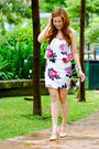 Crimson-floral-bottomline-clothing-dress-tan-nude-tonic-heels