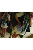 Erin Fetherston for Target dress - Zara vest - Alexander Wang top - Topshop shoe