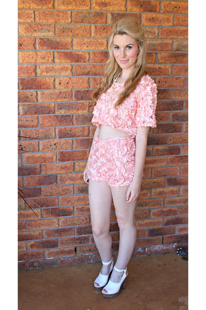 light pink lindsey top Jayde Hayes Designs top