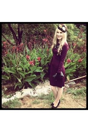 flower detail Jayde Hayes Designs hat - full sleeved Jayde Hayes Designs dress