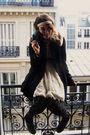 Black-h-m-coat-beige-forever-21-dress-black-newlook-tights-black-h-m-socks