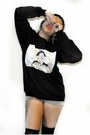 Black-discreetlycensored-sweatshirt