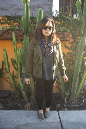 Zara jacket - rag & bone sweater - Zara pants - TOMS flats