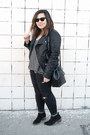 Black-dolce-vita-boots-black-distressed-zara-jeans-black-pleather-jacket