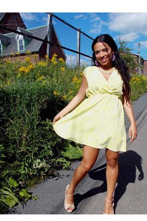 Kardashian Kollection dress - Steve Madden sandals