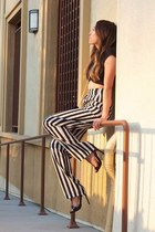 crop top Nasty Gal top - high waisted Luna Boutique pants