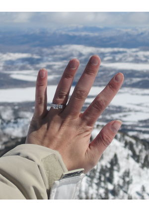 silver Engagement Ring accessories