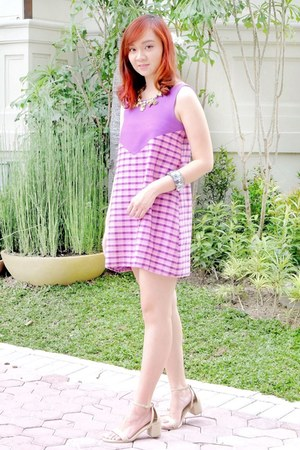 bubble gum amano dress
