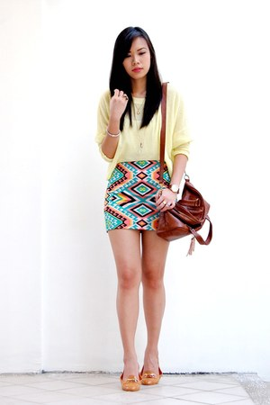 aquamarine kaleidoscope shopabcd skirt