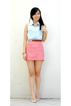 bubble gum basic shopabcd skirt