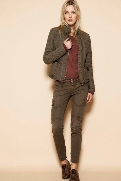 brown Closed jacket - brown Closed pants